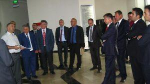 Savunma Sanayii Müsteşarlığı Yetkilileri Tokat Teknopark'a Ziyarette Bulundular.