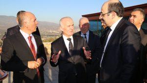 YÖK Başkanımız Sayın Prof.Dr.Yekta SARAÇ'IN Teknopark Ziyareti