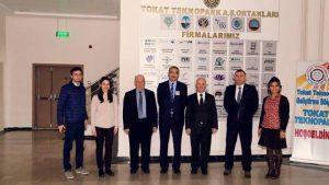Kilis 7 Aralık Üniversitesi Rektörü Prof. Dr. İsmail Güvenç'in Teknopark Ziyareti