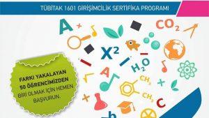 Tübitak 1601 Girişimcilik Sertifika Programı