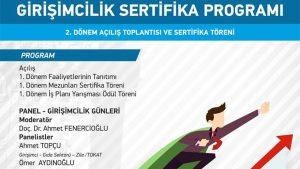 Girişimcilik Sertifika Programı 2. Dönem Açılış Toplantısı