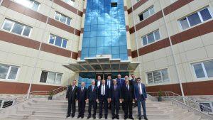 Orta Karadeniz Kalkınma Ajansı (OKA) Mart ayı Yönetim Kurulu Toplantısı Tokat Teknopark'ta yapıldı.