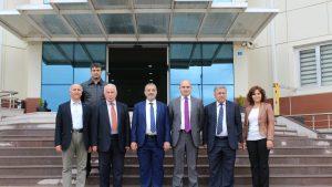 İskenderun Teknik Üniversitesi Rektörü Sayın Prof.Dr.Türkay DERELİ'nin Teknopark Ziyareti