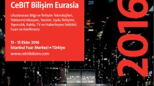 CeBIT Bilişim EURASIA 2016(13-15 Ekim 2016)