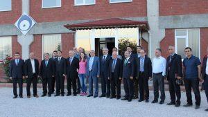 Kamu-Üniversite-Sanayi İşbirliği (KÜSİ) kapsamında Zile ilçesinde Firma Ziyaretleri yapıldı.