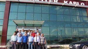 Kamu-Üniversite-Sanayi İşbirliği (KÜSİ) kapsamında Turhal ilçesinde Firma Ziyaretleri yapıldı.