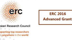 ERC Advanced Grant 2016 Çağrısı