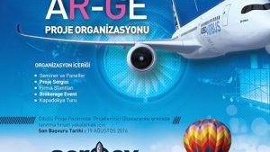 13-15 Ekim 2016 Uluslararası Havacılık ve Uzay Teknolojileri Ar-Ge Proje Organizasyonu