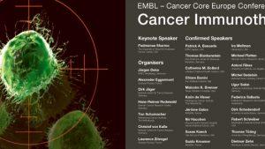 1. EMBL – Kanser İmmünoterapi, Avrupa Kanser Araştırmaları Konsorsiyumu Konferansı