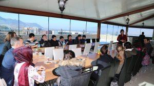 Amasya Şehit Ferhat Ünelli Bilim ve Sanat Merkezinden Teknoparka Ziyaret