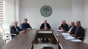 Tokat Teknopark Yönetim Kurulu Toplantısı yapıldı.
