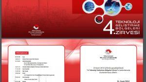 4. Teknoloji Geliştirme Bölgeleri Zİrvesi