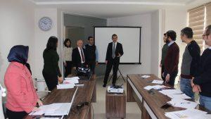 BEÜ Rektörü Prof. Dr. Mahmut Özer'in Teknopark Ziyareti