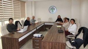 GOÜ Teknoloji Transfer Ofisi proje hazırlık toplantısı yapıldı.