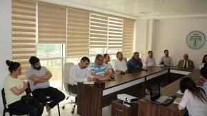 Rekabetçi Sektörler Programı Proje hazırlık toplantısı yapıldı.