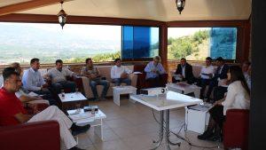 İnovasyon Odaklı Mentörlük (İNOSUIT) Projesi tanıtım toplantısı yapıldı.