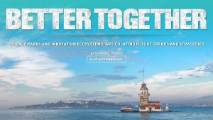 34. IASP Uluslararası Teknoparklar Birliği Dünya Konferansı (26-29 Eylül)