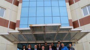 Erzincan Üniversitesi Rektörü Prof. Dr. İlyas ÇAPOĞLU'nun Teknopark Ziyareti