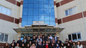 Erbaa Merkez Anadolu Lisesi Öğrencileri Tokat Teknopark'ı Ziyaret Etti.