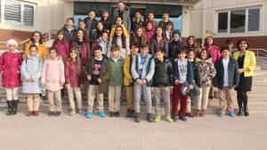 Namık Kemal Ortaokulu öğrencilerinin bugünkü dersi Teknopark oldu.