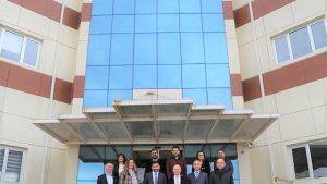 Bursa Teknik Üniversitesi Rektörü Prof. Dr. Arif KARADEMİR'in Teknopark Ziyareti