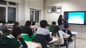 """Tokat Bilim ve sanat Merkezi'nde(BİLSEM) """"İnovasyon ve Girişimcilik Eğitimi"""" verildi."""