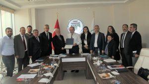 Kamu- Üniversite-Sanayi İşbirliği (KÜSİ) Planlama Ve Geliştirme Kurulu Toplantısı yapıldı.