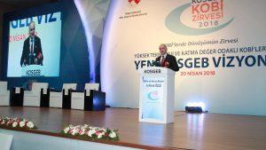 """""""KOSGEB KOBİ Zirvesi""""ne katılım sağlandı."""