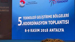 5. Teknoloji Geliştirme Bölgeleri Koordinasyon Toplantısına katılım sağlandı.