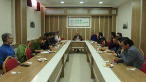 Firmalarımızla değerlendirme toplantısı yapıldı.