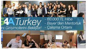Bayer Girişim Hızlandırma Programı Grants4Apps Turkey 2019 için Başvurular Başladı.