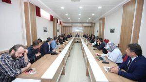 Rektörümüz Prof. Dr. Bünyamin Şahin, TOKAT TEKNOPARK firmaları ile bir araya geldi.