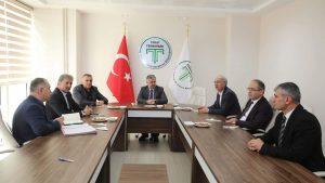 TEKNOPARK yönetim kurulu toplantısı yapıldı.
