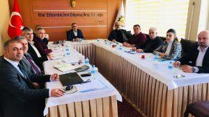 KÜSİ kapsamında Üniversite-Teknopark-OSB işbirliği toplantısı yapıldı.