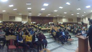 """Zile MYO'da düzenlenen """"Girişimcilik, İnovasyon ve Fikri Mülkiyet Hakları"""" Seminerine katıldık."""