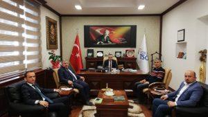 Tokat TSO Başkanı Dr. Ali ÇELİK'i ziyaret ettik.
