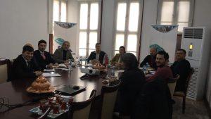 Orta Karadeniz Kalkınma Ajansı Tokat Yatırım Destek Ofisi ziyaret edildi.