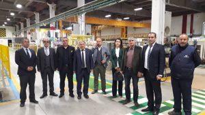 Kamu Üniversite Sanayi işbirliği kapsamında TRELLEBORG firmasını ziyaret ettik.