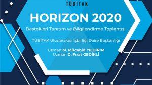 HORIZON 2020 Destekleri Tanıtım ve Bilgilendirme Toplantısı