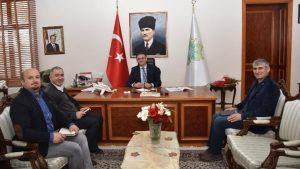 Tokat valisi Sayın Dr. Ozan BALCI'yı Makamında ziyaret ettik.
