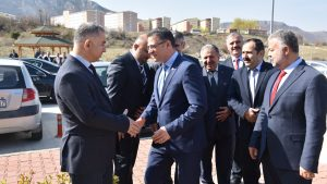 KÜSİ İl Koordinasyon Toplantısı Tokat Valisi Sayın Dr. Ozan BALCI'nın başkanlığında Tokat Teknopark Toplantı salonunda yapıldı.