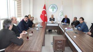 Erbaa'da faaliyet gösteren ASTER Tekstil firması ile KÜSİ kapsamında toplantı yapıldı.