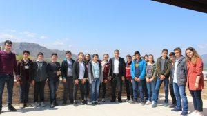 Tokat Yağmurlu Ortaokulu Teknoparkımızı ziyaret etti.
