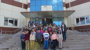 Tokat Merkez Vali Recep Yazıcıoğlu İlkokulu Teknoparkımızı ziyaret etti.