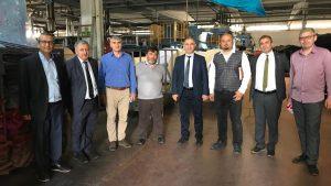 Tokat'ta faaliyetine devam eden Has Özgen Tekstil KÜSİ faaliyetleri kapsamında ziyaret edildi.