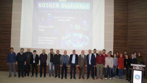 KOSGEB Destekleri Tanıtım ve Bilgilendirme Toplantısı