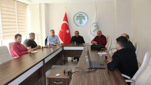 Rekabetçi sektörler programı proje hazırlık toplantısı Teknopark toplantı salonunda yapıldı.
