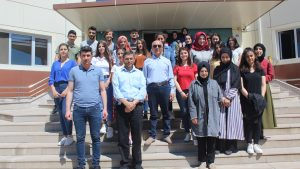 Tokat Gaziosmanpaşa Üniversitesi Yüksekokul öğrencileri Teknoparkımızı ziyaret etti.