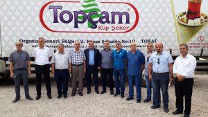 Kamu Üniversite Sanayi İşbirliği kapsamında Cemre Gıda ve Topçam küp şeker firmaları ziyaret edildi.