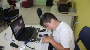 Arduino kursumuzun 1.'si başladı.